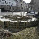 Barbara-Denkmal Bauarbeiten 2014 [Quelle: Ingmar Flach]