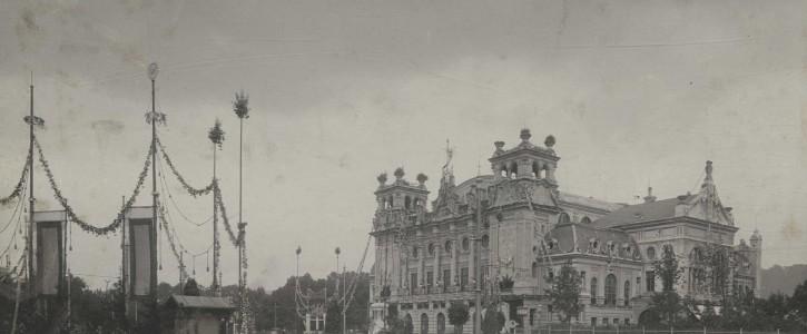 Städtische FesthalleI, 1905 [Quelle: Stadtarchiv, gemeinfrei]