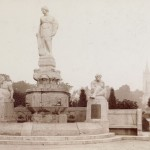 Fotografie des ursprünglichen Denkmals auf dem Kaiser-Wilhelm-Ring [Quelle: Verein der Freunde und Förderer Barbara-Denkmal e.V. Koblenz]