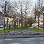 Standort des Denkmals vor dem ersten Spatenstich [Quelle: Verein der Freunde und Förderer Barbara-Denkmal e.V. Koblenz]