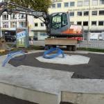 Das Fundament des Denkmals [Quelle: Verein der Freunde und Förderer Barbara-Denkmal e.V. Koblenz]