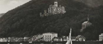Ansichtskarte Schloss Stolzenfels ca. 1970 [Quelle: Stadtarchiv Koblenz]