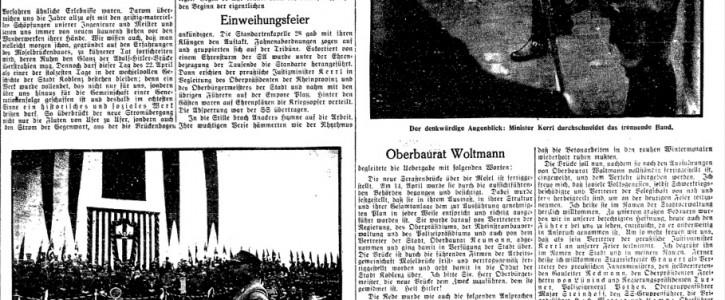 Koblenzer Volkszeitung 23. April 1934