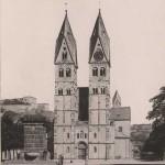 Kastorkirche ca 1888 [Quelle: Stadtarchiv]