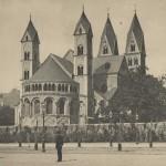 Kastorkirche ca 1907 [Quelle: Stadtarchiv]