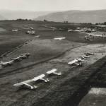 Flugplatz auf der Karthause ca 1960 [Quelle: Stadtarchiv Koblenz]