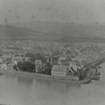 Deutsches Eck um 1875 [Quelle: Stadtarchiv Koblenz]