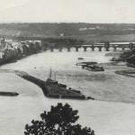 Deutsches Eck um 1882 [Quelle: Stadtarchiv Koblenz]
