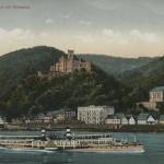 Schloss Stolzenfels ca. 1909 [Quelle: Stadtarchiv Koblenz]